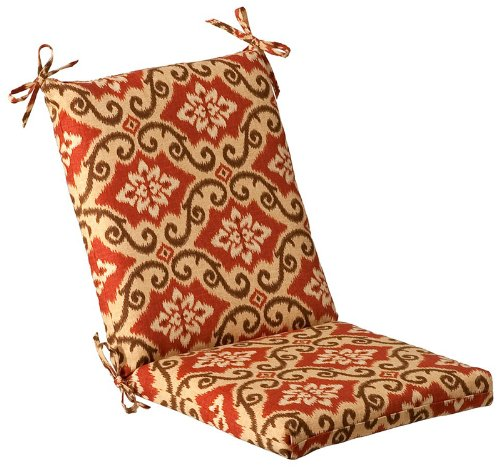 Outdoor Patio Furniture Mid Back Chair Cushion - Vintage Tuscan
