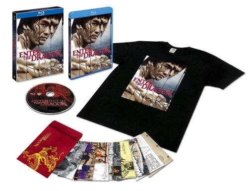 燃えよドラゴン 製作40周年記念リマスター版 ブルーレイ(Tシャツ付)(初回限定生産) [Blu-ray]