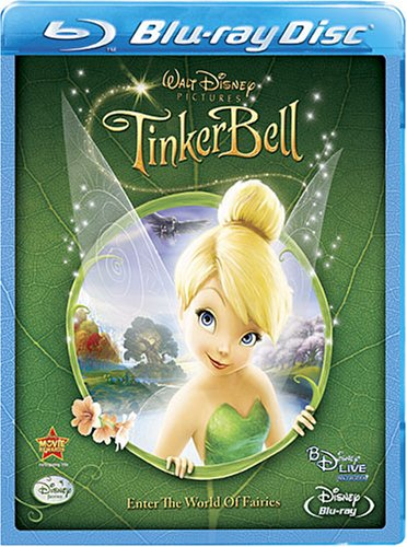 Cover art for  Tinker Bell (BD Live) [Blu-ray]