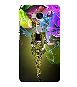 Modren Tinage Girl Cute Fashion 3D Hard Polycarbonate Designer Back Case Cover for Huawei Honor 5X :: Huawei Honor X5 :: Huawei Honor GR5