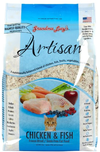Image of Artisan Grain-Free Cat Food (Chicken & Fish) -3Lb