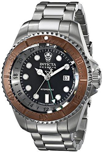 Invicta Men'S 16963 Reserve Analog Display Swiss Quartz Silver Watch