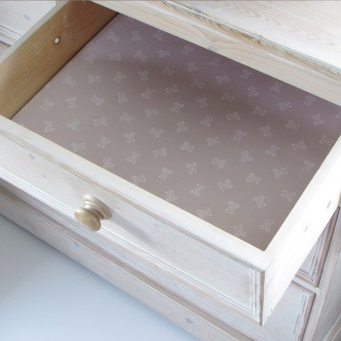 Scented English Baby Brown Drawer Liners By Best British Gifts (Scented Drawer Liners Baby compare prices)