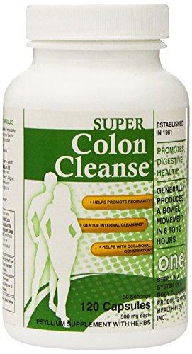 Health Plus Super Colon Cleanse  Laxative, 500  Mg, 30 Doses, 120 Capsules (Super Colon Cleanse compare prices)