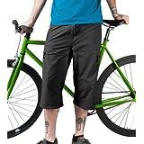 Men's Bicycle Commuter Pedal Pusher Capris ~ Aero Tech Designs