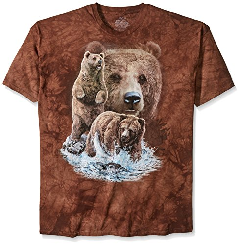 Find 10 Brown Bears Adulto Small Animals Unisex T Shirt Mountain