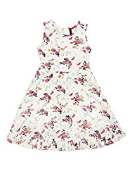 SuperYoung Girls' Off-White Dress