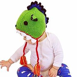 Huggalugs Baby and Toddler Dragon Beanie Hat Medium