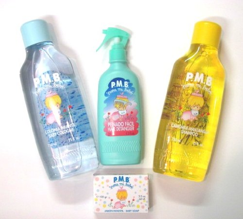 Para Mi Bebe Baby Products Family Size 25 oz - Imported From Spain (Boy Set)