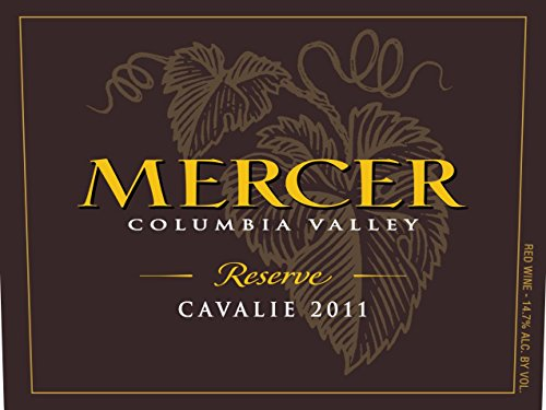 "2011 Mercer Estates ""Cavalie"" Bordeaux Blend Reserve 750 Ml"