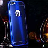 iPhone 6s Plus Case, iPhone 6 Plus Case, ArtMine Luxury Aluminum Metal Bumper Shockproof Protective Snap on Hard Back Case Cover for Apple iPhone 6s Plus/6 Plus (Royal Blue)