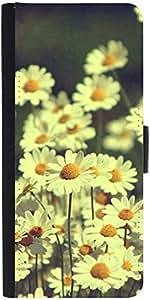 Snoogg Sunflowers Designer Protective Phone Flip Case Cover For Panasonic P55 Novo