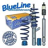 JOM BlueLine Gewindefahrwerk Seat Leon 1P 1.4/ 1.6/ 2.0/ 2.0T/ DSG/ 1.9TDi à 50/55 mm!!, Gewinde/ Feder
