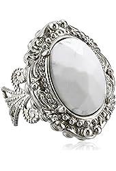 "Sorrelli  ""Aegean Sea"" Victorian Ring"