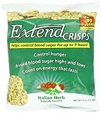 ExtendCrisps, Italian Herb, 1.1-Ounce Bags (Pack of 5)
