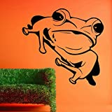 Decal Style Frog Wall Sticker Small Size-15*15 Inch