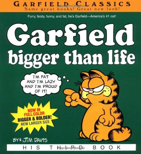 Garfield: Bigger Than Life (Garfield, 3) - Jim Davis