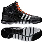 Adidas Q33456 Adipure Crazyquick Men's Basketball Shoes (Medium Lead /White/Black)