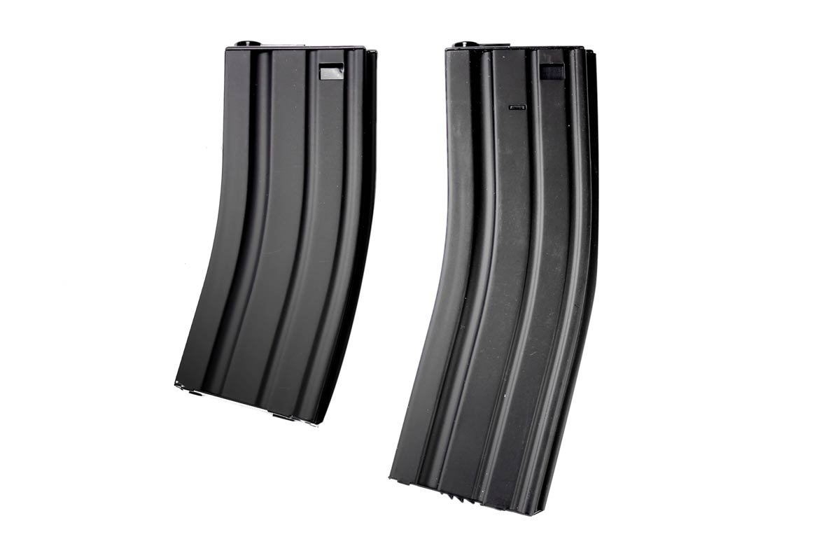 Аксессуар для пейнтбола MetalTac 500 Rounds M4 / M16 Airsoft Gun Magazine High Capacity Long Magazine Metal Mag by MetalTac®