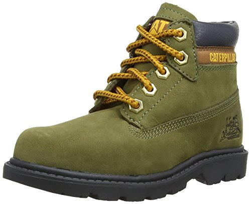 Caterpillar boys Caterpillar Boys Colorado Leather Boots Green Avacado Leather UK Kids Size 10 (Caterpillar Boots For Kids compare prices)