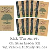The Purpose Driven Life Small Group Series: You Were Made For A Mission (10 Study Guides & VHS Video) Volume 6