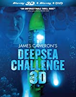 James Cameron's Deepsea Challenge 3D [Blu-ray] from Millennium Entertainment