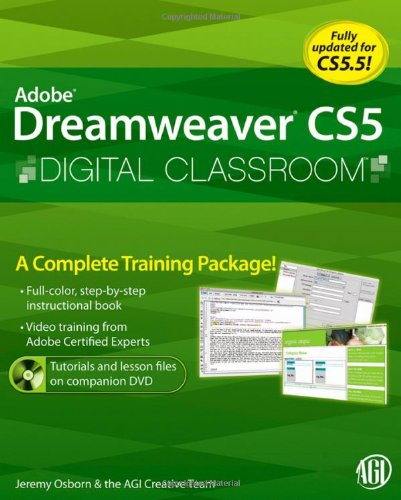Adobe Dreamweaver CS5 Digital Classroom