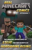 The Amazing Adventures of Steve and the Secrets of Herobrine Rising (Real Minecraft Comics Book 1)