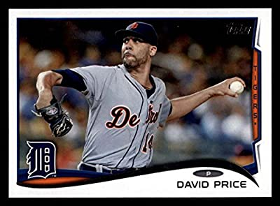 2014 Topps Update # 7 David Price Detroit Tigers (Baseball Card) Dean's Cards 8 - NM/MT