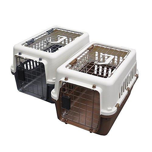 【 IATA 基準クリア】ペットキャリーバッグ50 グレー 猫用・小型犬用・小動物用にも(ねこ・猫・ネコ・いぬ・犬・イヌ)