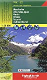 WK152: Mayrhofen- Zillertaler Alpen Hiking map (Austria) FB 1:50K (Hiking Maps of the Austrian Alps) (English, French, Italian and German Edition)