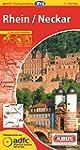 ADFC-Radtourenkarte 20 Rhein /Neckar...