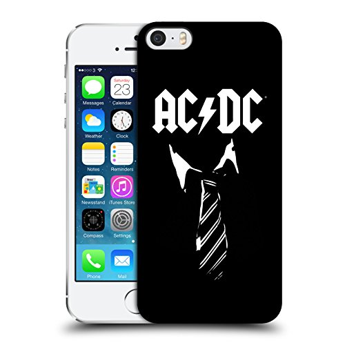 Ufficiale AC/DC ACDC Cravatta Iconico Cover Retro Rigida per Apple iPhone 5 / 5s / SE