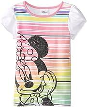Disney Girls39 Minnie Mouse Glitter T-Shirt