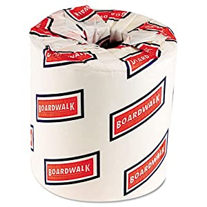 Boardwalk 6180 White 2-Ply Standard Toilet Tissue, 4.5″ Length x 3″ Width (Case of 96) $38.22