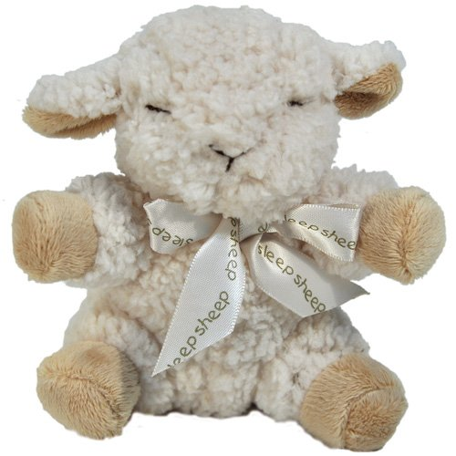 Cloud b Baby Sheep with Quiet Rattle - 1