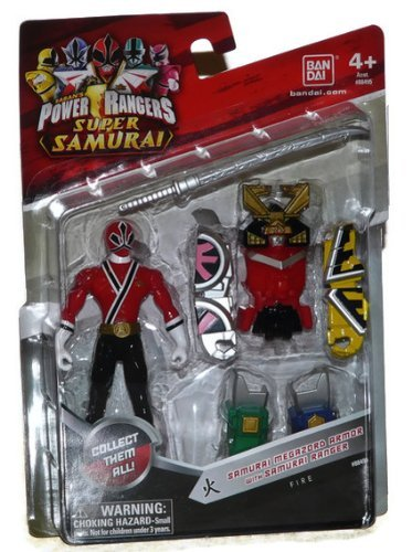 "Saban's Power Rangers Super Samurai Megazord Armor With 4"" Fire Ranger - 1"