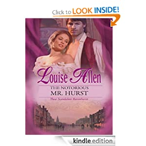 The Notorious Mr. Hurst  -  Louise Allen
