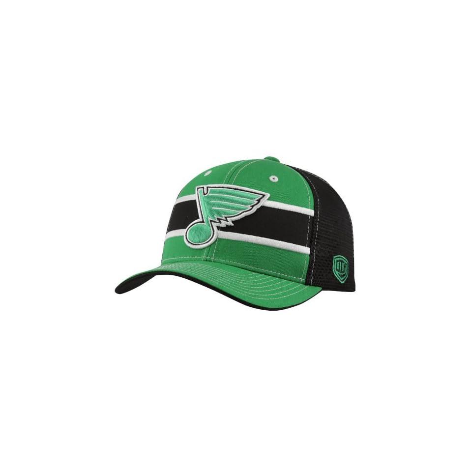 new arrival 45f80 041cc NHL Old Time Hockey St. Louis Blues St. Patricks Day Doherty Flex Hat Black