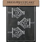 Dress My Cupcake Chocolate Candy Mold Gingerbread House Lollipop Christmas