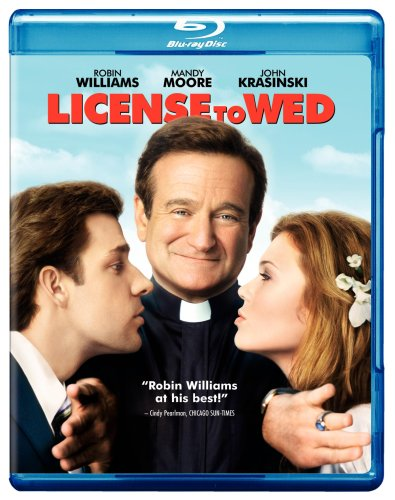 Cover art for  License to Wed [Blu-ray]