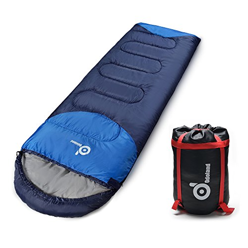 ODOLAND-Cool-Weather-Waterproof-Windproof-Envelope-Sleeping-Bag-with-Compression-Bag-Comfort-Lightweight-Portable-Camping-Gear-for-Outdoor-Hiking-Traveling-and-Survival