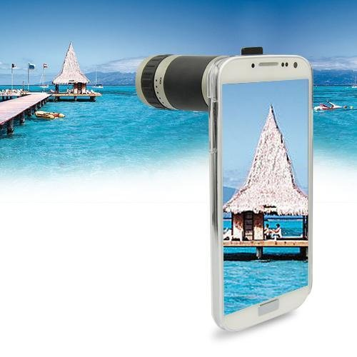 8X Zoom Phone Camera Lens Telescope With Case For Samsung Galaxy S Iv S4 I9500