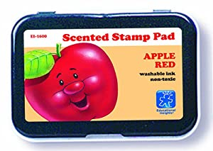 Educational Insights Red/Apple Scent Stamp Pad (1600)