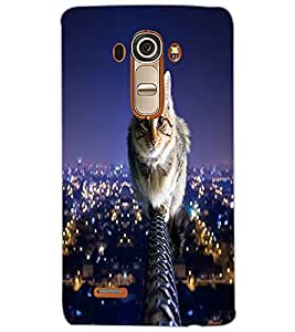 LG G4 CAT Back Cover by PRINTSWAG