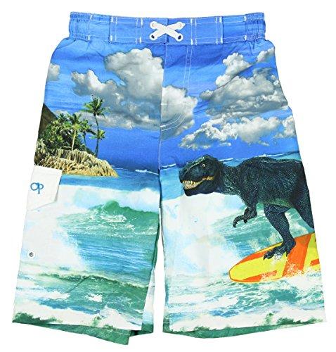 ocean-pacific-boys-t-rex-dinosaur-surfing-swim-shorts-2xl