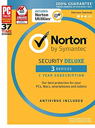 Norton Security Deluxe + Norton Utilities Bundle - 3 Devices