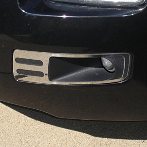 Polished Stainless Fog Lamp Trim fits: 2006-2009 Ford Fusion - Ferreus Industries - OTH-107-02 (2009 Ford Fusion Emblem compare prices)