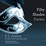 Fifty Shades Darker: Book Two of the Fifty Shades Trilogy (       UNABRIDGED) by E. L. James Narrated by Becca Battoe