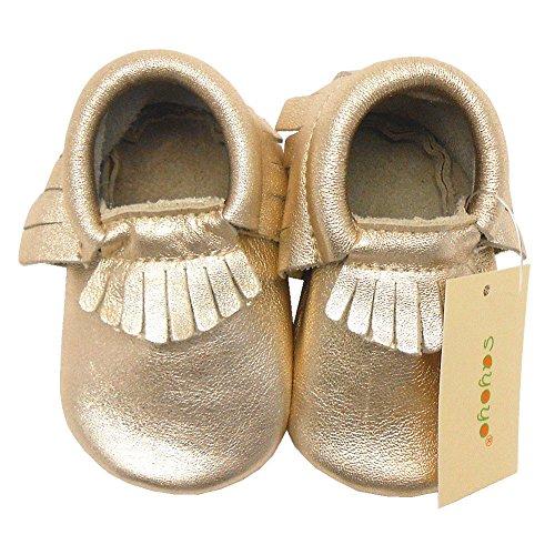 Sayoyo Baby Tassels Soft Sole Leather Infant Toddler